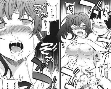 【エロ漫画】泥酔していた女を助けたんだから、生中だしレイプくらいええやろの精神