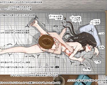 【エロ漫画】複雑な家庭での近親相姦…