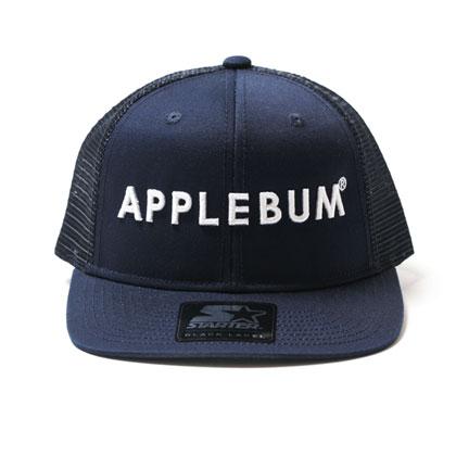 APPLEBUM-LOGO-MESH-CAP-STARTER-NAVY-BLOG1
