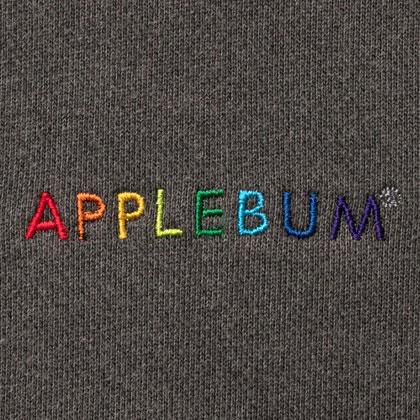 APPLEBUM-RAINBOW-LOGO-PIGMENT-SWEAT-PARKA-BLACK-BLOG2