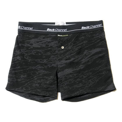 Back Channel THERMAL BOXER UNDERWEAR 15FW BLACK CAMO BLOG