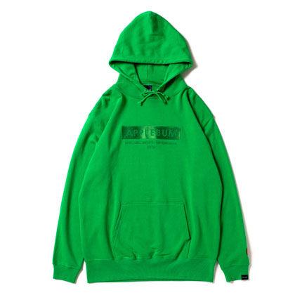 APPLEBUM-LOGO-SWEAT-PARKA-GREEN-BLOG1