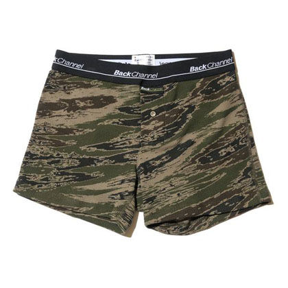 Back Channel THERMAL BOXER UNDERWEAR 15FW GREEN CAMO BLOG
