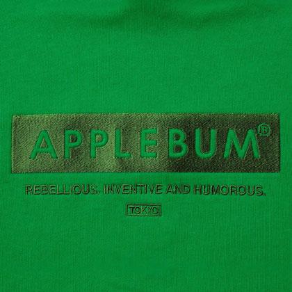 APPLEBUM-LOGO-SWEAT-PARKA-GREEN-BLOG5