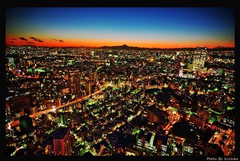 東京夜景2