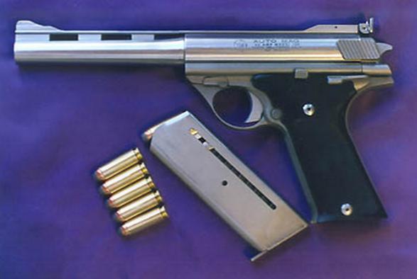 世界初のマグナム弾を使用するハンドガン オートマグとは gun geek