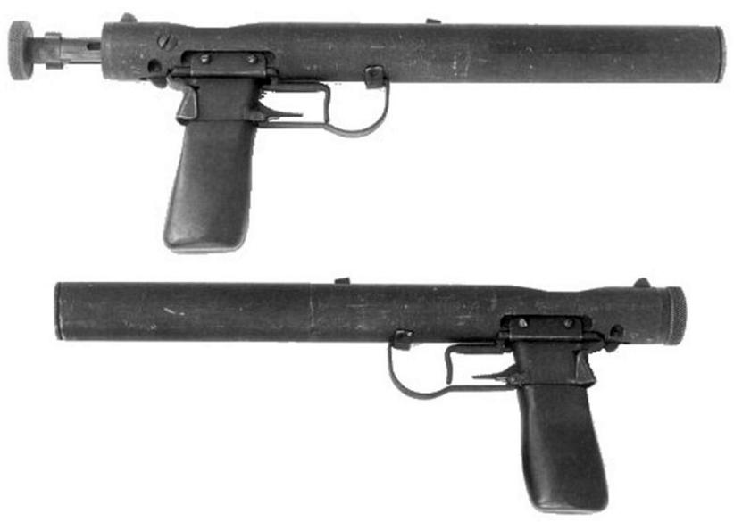 第二次世界大戦中にイギリスで開発された特殊作戦用の消音拳銃 ウェルロッドとは                         コメント