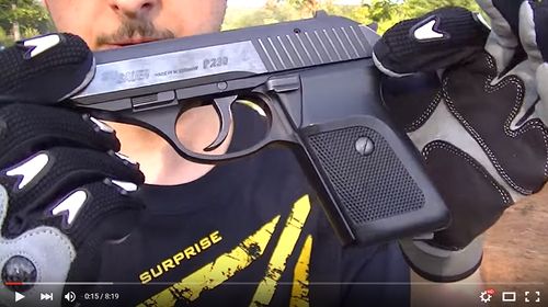 Sig P230 (380acp) shooting, field strip, and review