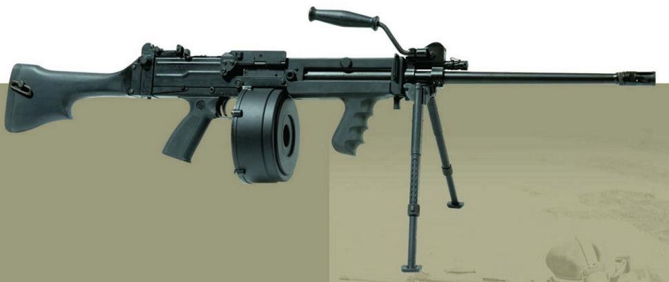 シンガポールの5.56mm軽機関銃 C...