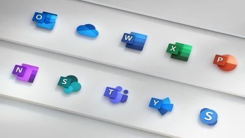 Microsoft、「Office」アプリのアイコンを数年ぶりに刷新へ