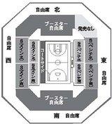 プレイオフ座席表