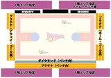 日韓戦座席図