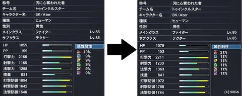 全部位☆12ユニット更新ステータス