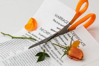 離婚・・・結婚式前に