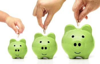 貯蓄と借入金の平均