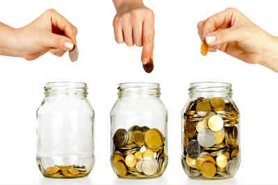 Savings amount