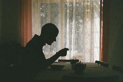 孤独な中年