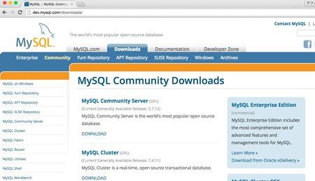 MySQL-Yosemite-version