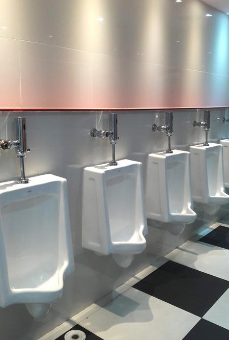 改装されたトイレ