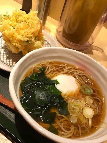 蕎香の朝そば@上野