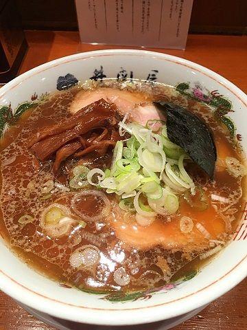 井関屋の肉そば@御茶ノ水