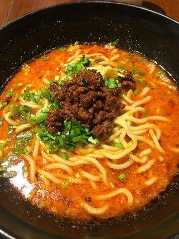 虎穴の担々麺@馬喰横山