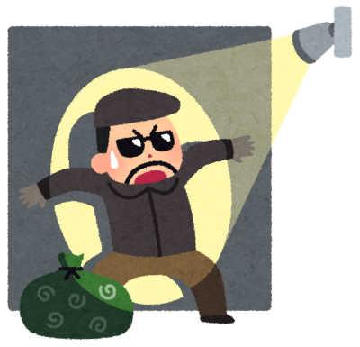 家の中に泥棒