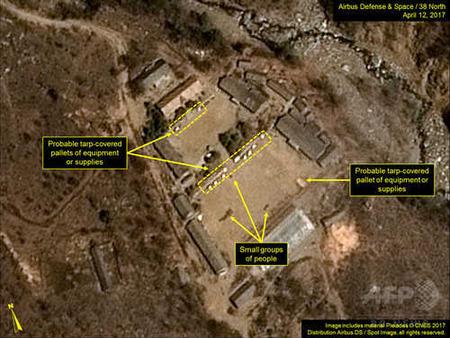北朝鮮、核実験の「準備完了」