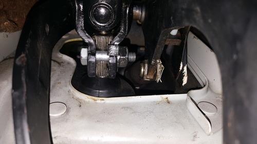 citroen ax steering gear