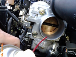 ロードスター NB6C エンジン洗浄2