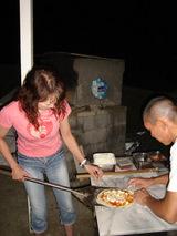 20090815内房サマーフェスティバルピザ