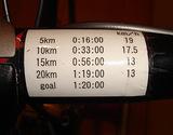 20090830目標タイム