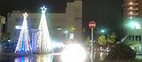 20101212駅前ライトアップ