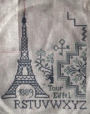 Eiffel Quaker 刺している途中