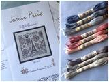 チャートと刺繍糸