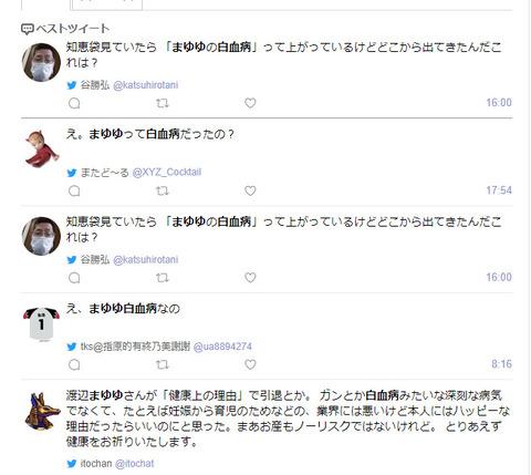 渡辺麻友まゆゆが白血病 (1)