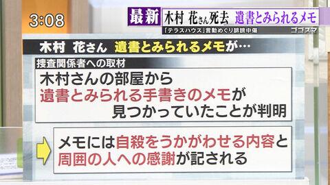 木村花の遺書内容にけんけん (1)