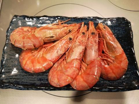 赤エビの含め煮 (9)