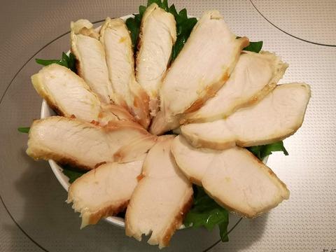鶏むね肉の花びら丼 (8)