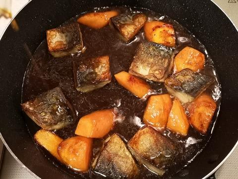 鯖のオイスターソース煮 (6)