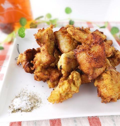 鶏むね肉のフライドチキン (1)