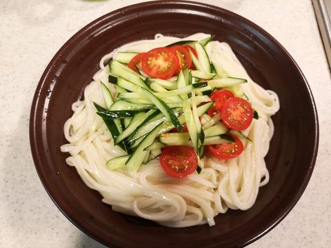 サラダうどん (6)