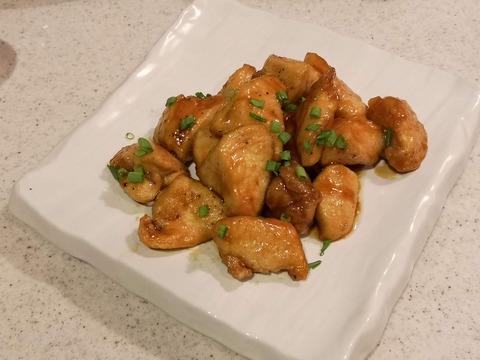 鶏むね肉の甘酢和え (9)