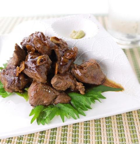 牛サイコロわさびステーキ (1)