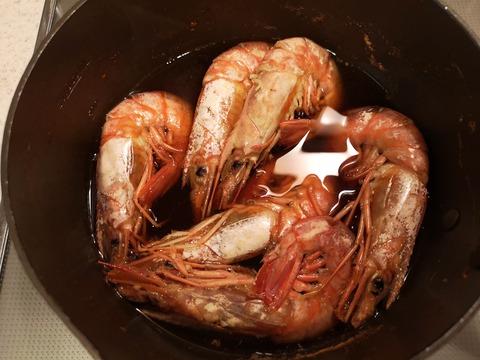 赤エビの含め煮 (6)