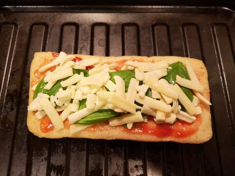 油揚げのサンドピザ (4)