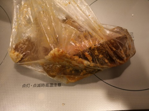 カレイのカレー揚げ (2)