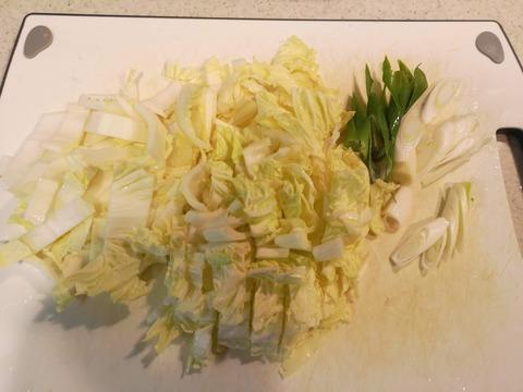 白菜の辛味和え (2)