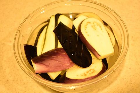 茄子の蒲焼丼 (3)