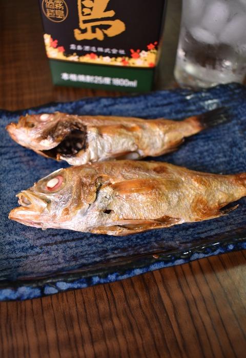 のどぐろのじっくり塩焼き (1)